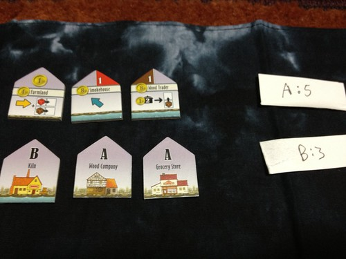 Le Havre: Inland Port solo randomized buildings 2nd row
