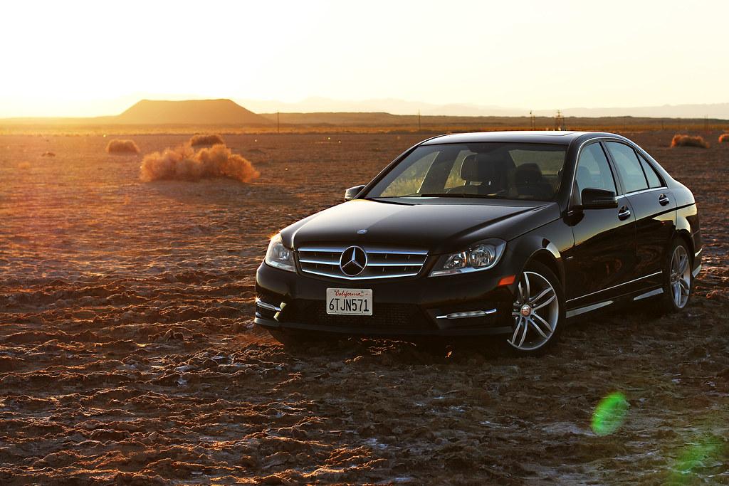 Mercedes & Desertscape
