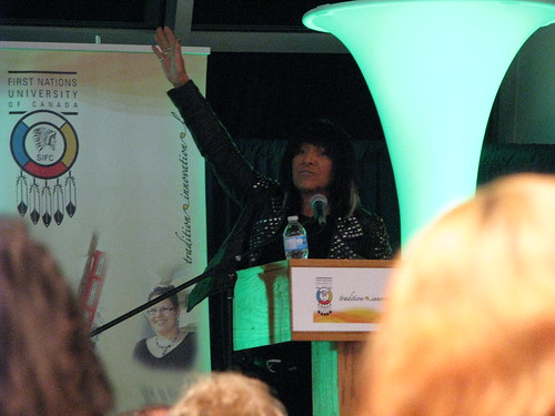 Buffy St. Marie at UofR FNUniv