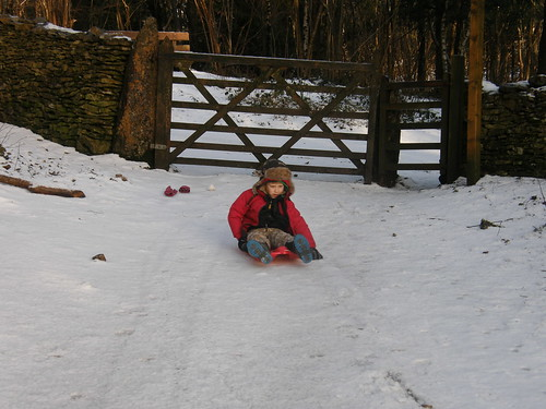 Sledging at Heathwaite