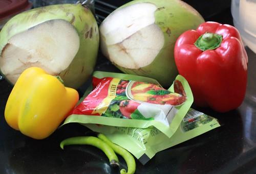 Paneer in Tender coconut