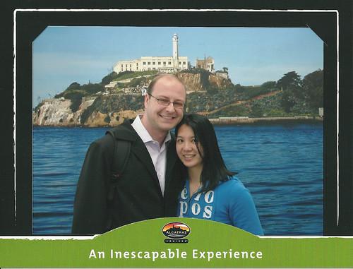 cheesy tourist photo