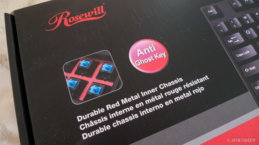 Rosewill RK-9000 - 02