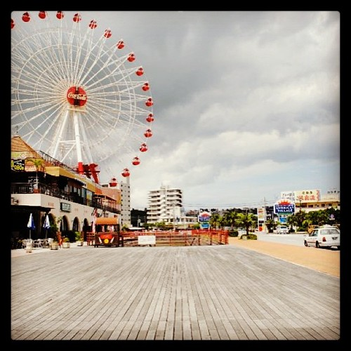 2010 #tbt #throwbackrhursday #okinawa #AmericanVillage #boardwalk #ferriswheel