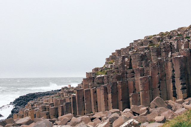 Basalt columns at Giant's Causeway