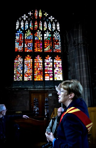 Cathedral Guide, Manchester Cathedral by Angela Seager