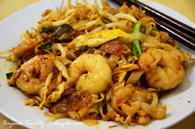 penang's char koay teow from lorong selamat, george town, penang via docgelo.com