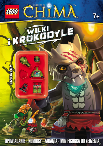 LEGO Legends of Chima - LNC202 Wilki i Krokodyle