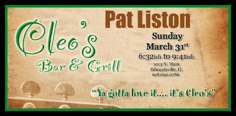 Pat Liston 3-31-13