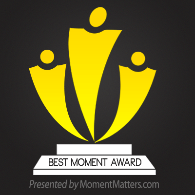 Best Moment Award Graphic