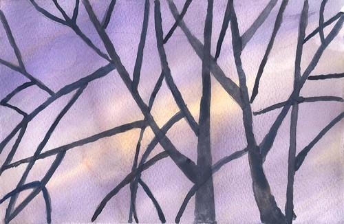 Bosque en Invierno 1