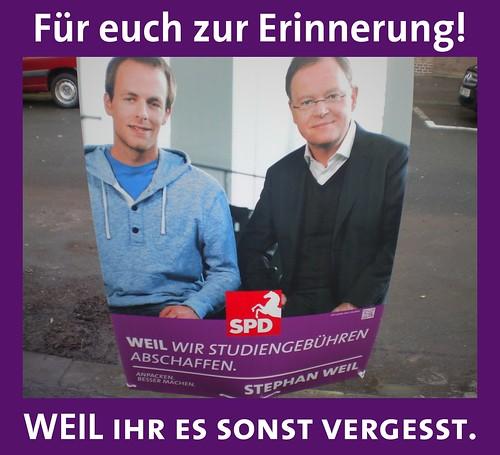 Erinnerung für die SPD by Elias Schwerdtfeger