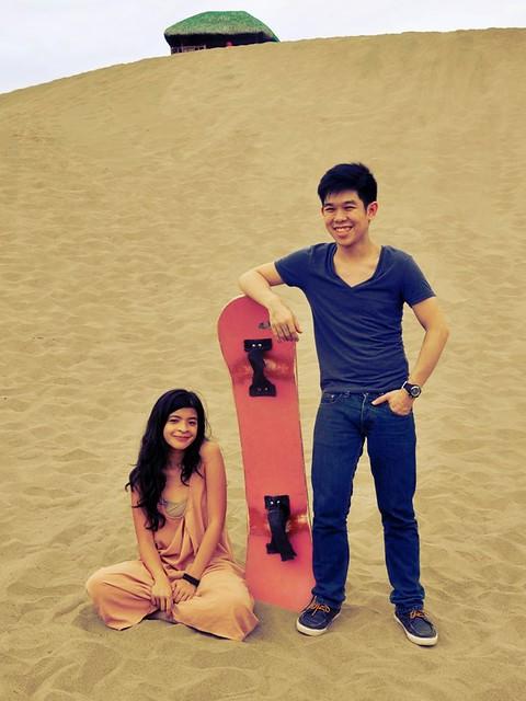 Patricia Evangelista and Josh Villanueva