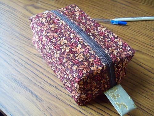 finished box bag