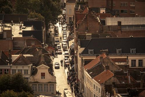 The Street of Gold (Bruges, Belgium) - Photo : Gilderic