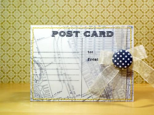 RIC #33 - Vellum Postcard