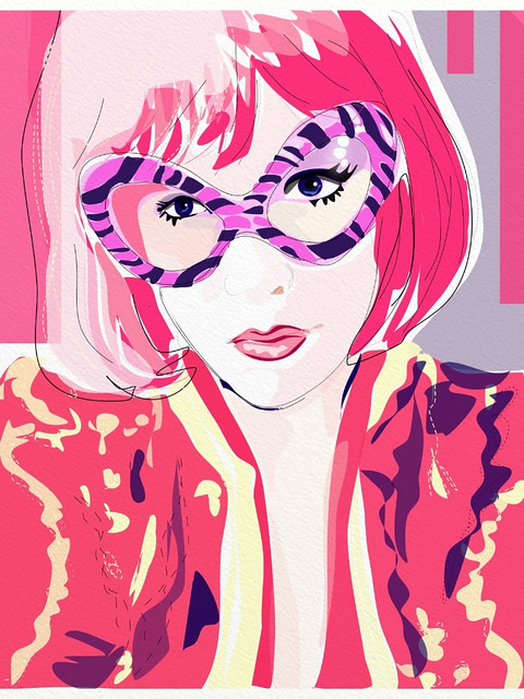 Michellejoni-art-drawing-Rita Flores-iPad art