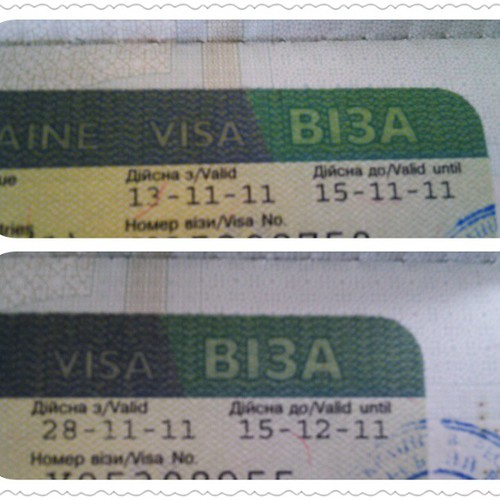 Have u ever see #visa for 2 days? !!! by Lau-Fung