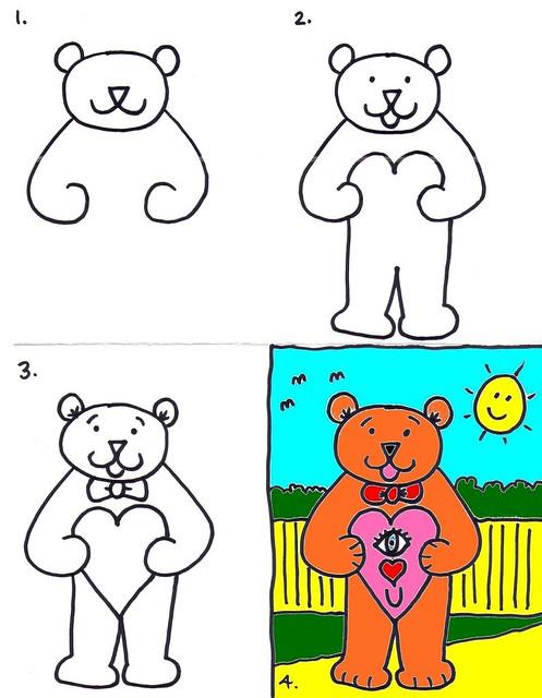 24a Valentine Bear