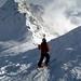 Mont Gelé - this way!