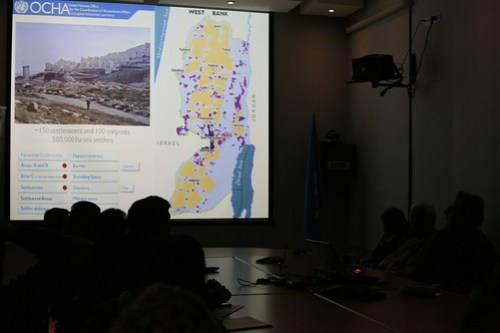 UN OCHA briefing