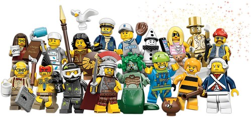 Series 10 minifigs