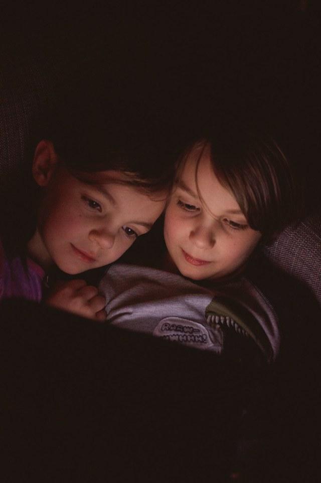 9/52/Life - Snuggling Siblings.