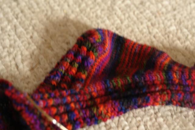 Twisted Sock Heel