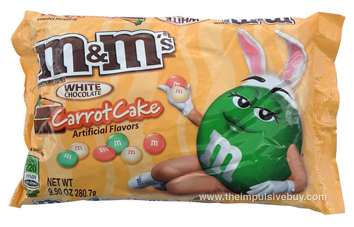 White Chocolate Carrot Cake M&M's