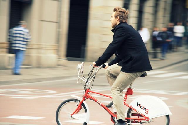 Bici-chic in Spain