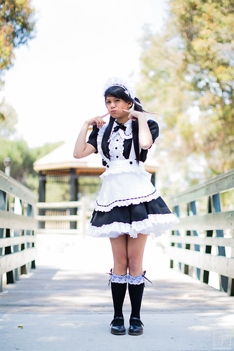 Behind the Scenes: Anime Expo Maid Cafe 2013 Portrait Session - 11