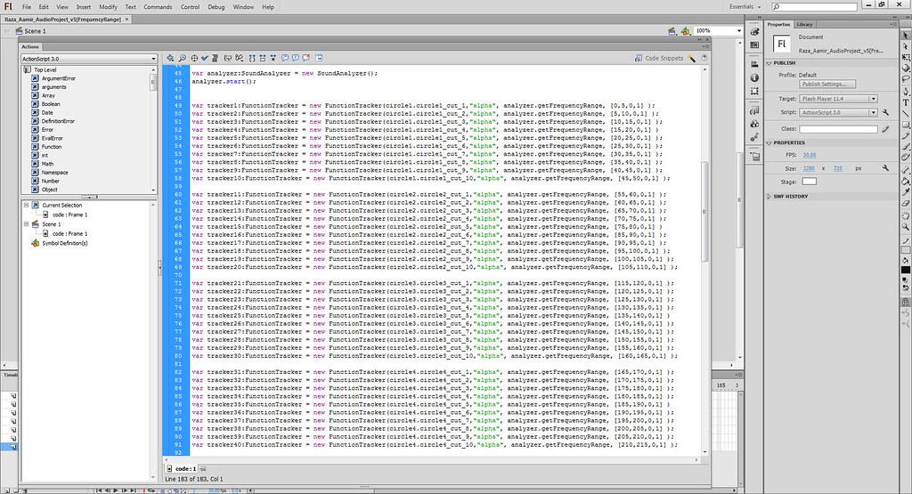 Functiontracker code