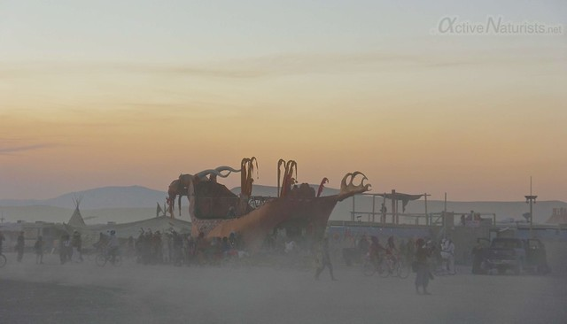 naturist 0139 Burning Man 2012, Black Rock City, NV, USA