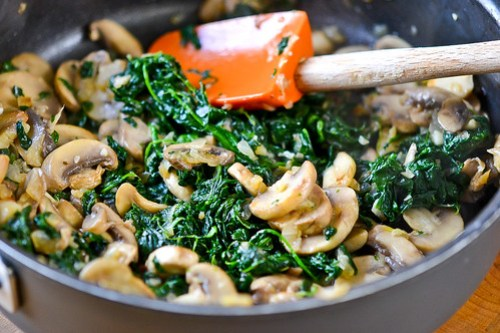 Mushroom-Spinach Stuffed Shells-3