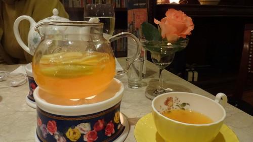 古典玫瑰園_熱水果茶2