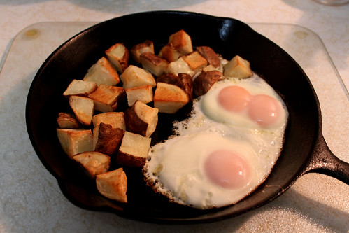 Potatoes + Eggs