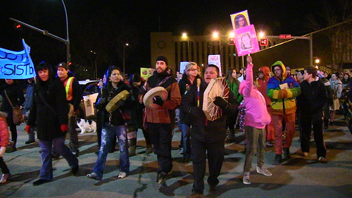 Memorial March for Missing and Murdered Women of Edmonton