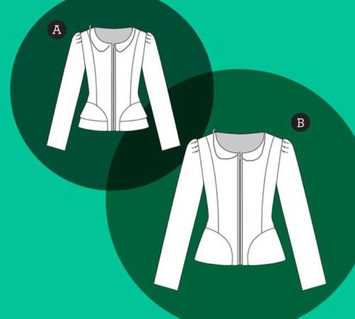 Adding a collar to the Cordova Jacket