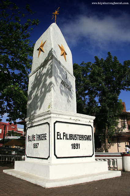 First Rizal Monument Daet Camarines Norte Morga
