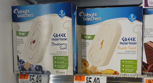 Weight Watchers Greek Frozen Yogurt Bars