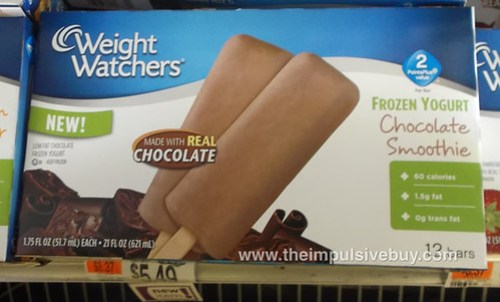 Weight Watchers Frozen Yogurt Chocolate Smoothie