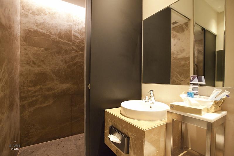 Lounge Shower Room