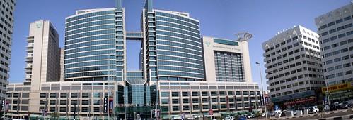 Abu Dhabi Mall and Rotana Beach Hotel
