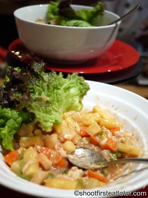 lobster pineapple salad