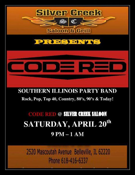 Code Red 4-20-13