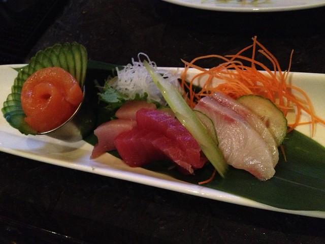 Assorted sashimi - Tsunami