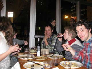 newcomer dinner group