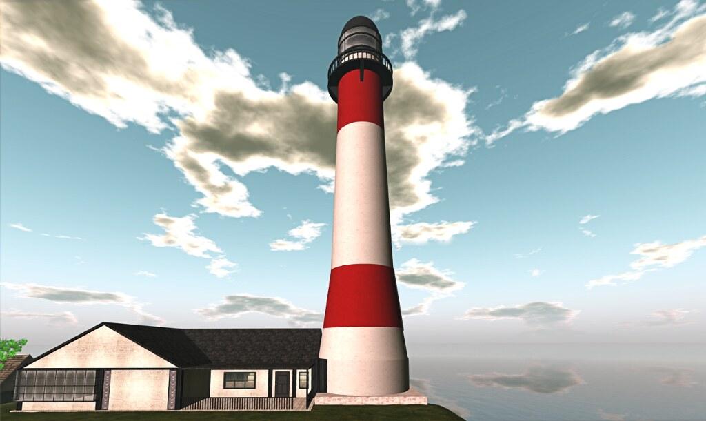 My new house, a lighthouse