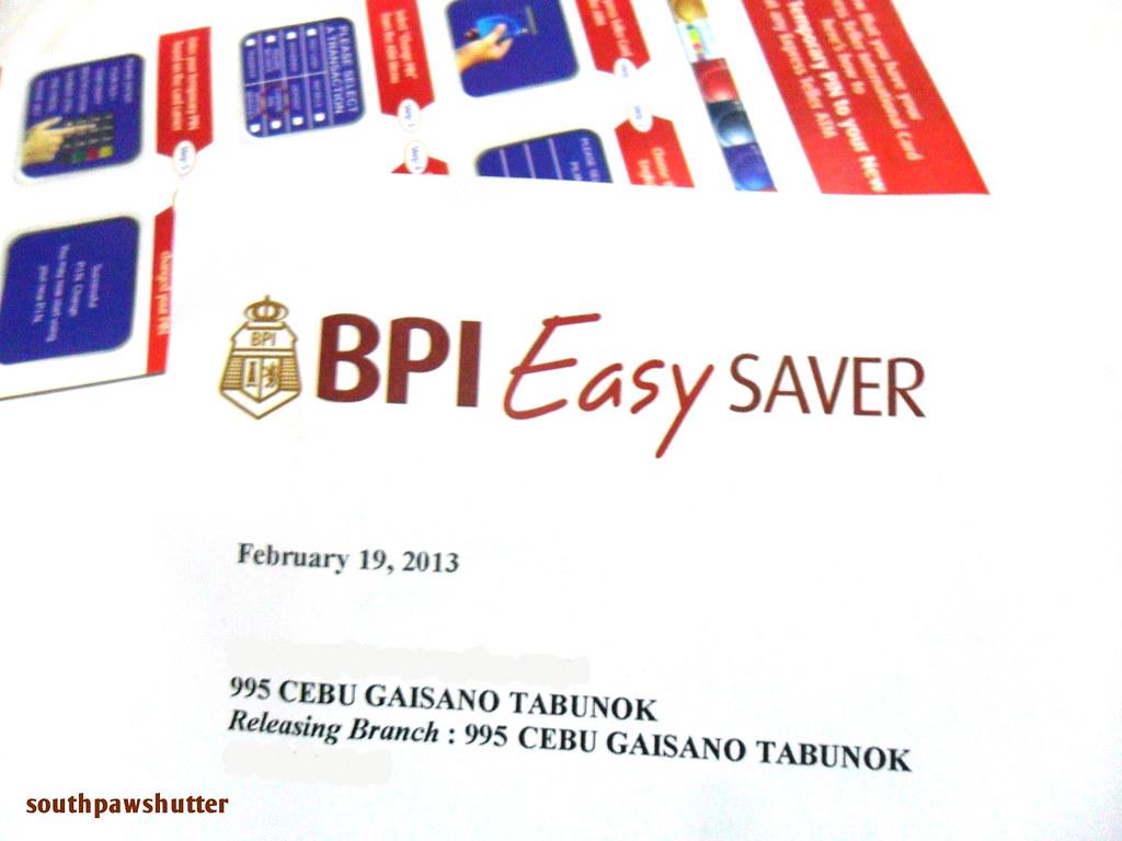 bpi easy saver