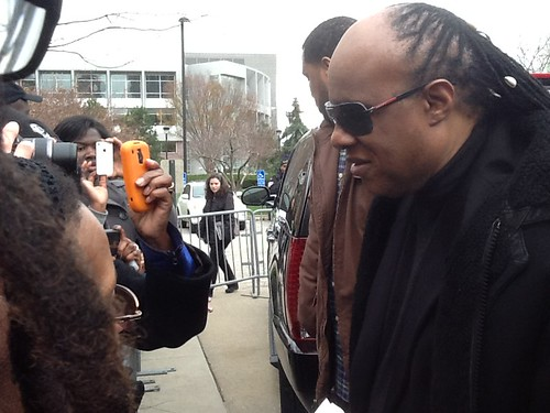 Stevie Wonder Chats with Fans by Jujufilms